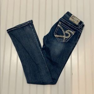 Charme boot cut jeans